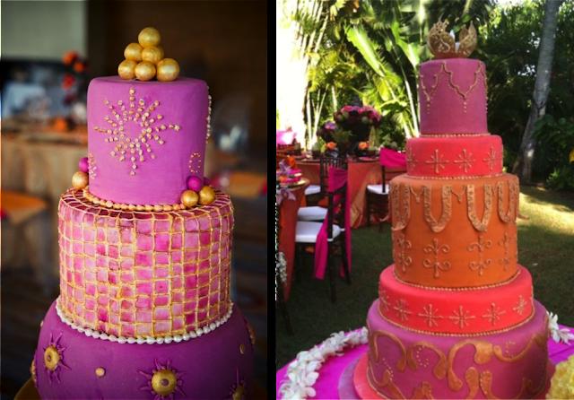 Tarta de boda marroquí