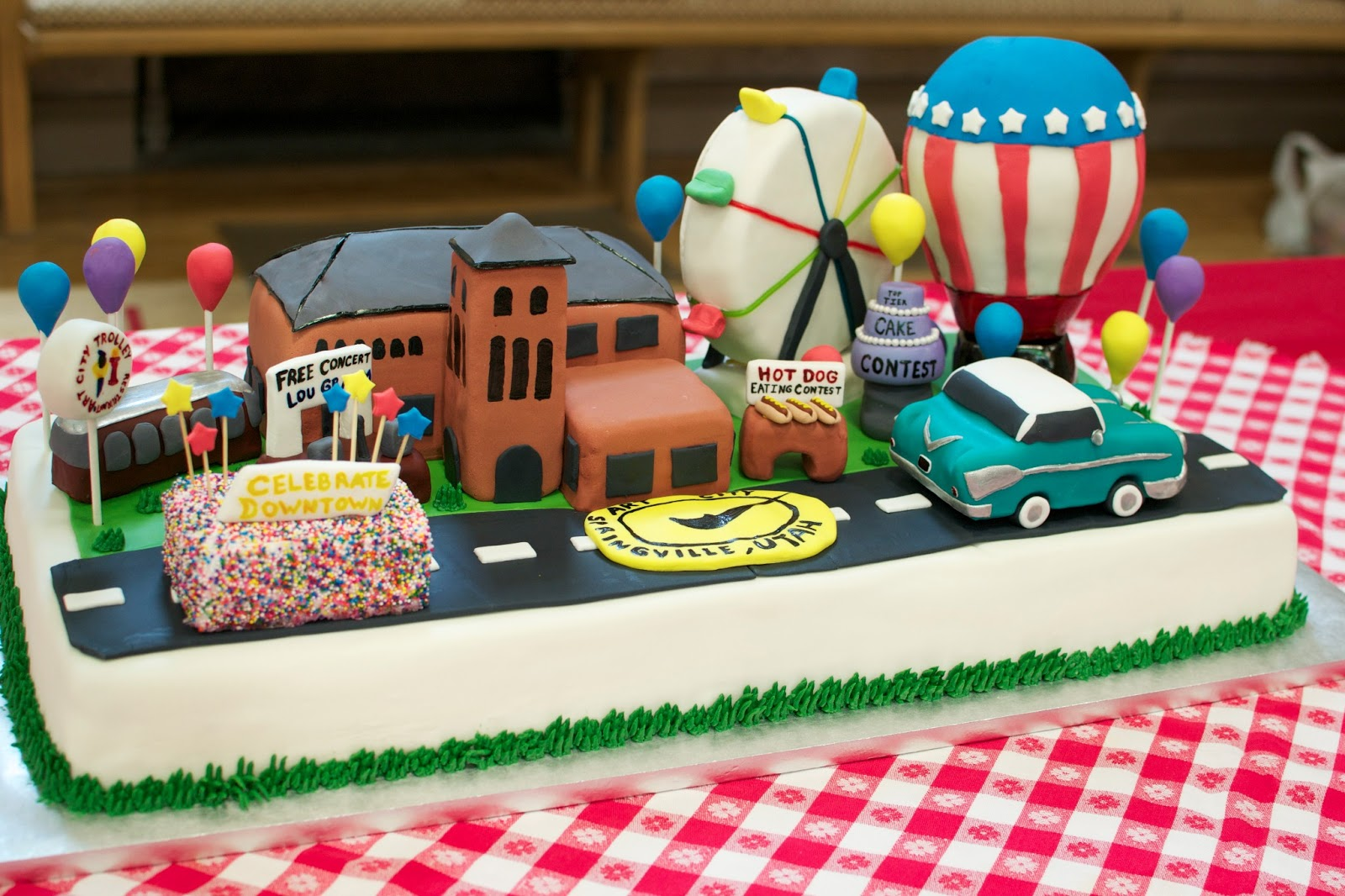 Cake Decoration Competition : THE MIGHTY BAKER: Springville Art City Days 2013, Top Tier ...