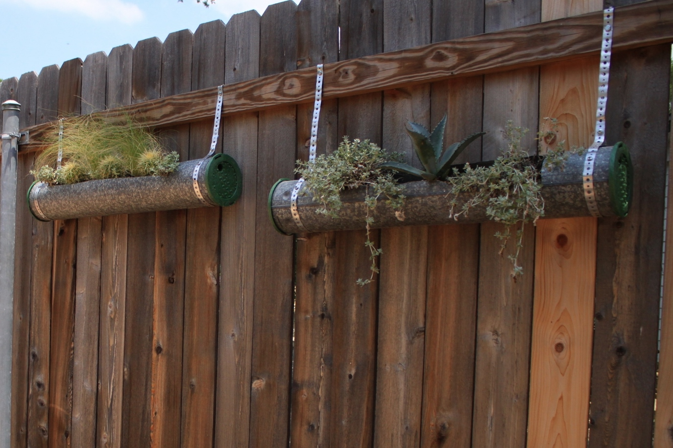 Planters On The Fence