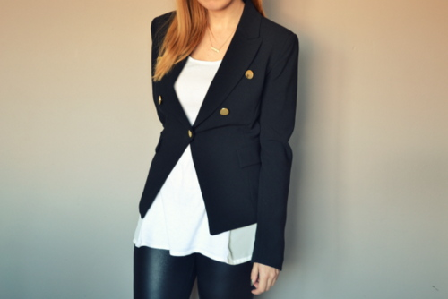 mango-kate-moss-black-blazer-military-gold-buttons