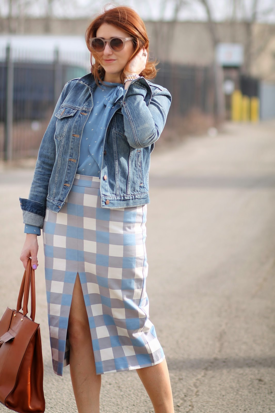 asos, checked, skirt, rebecca, minkoff, MAB