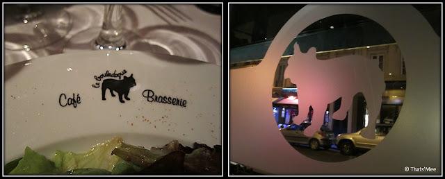 Cafe brasserie bistro Le Bouledogue Paris 3eme jean-Pierre et Didier, plats traditionnels os a moelle piece de boeuf