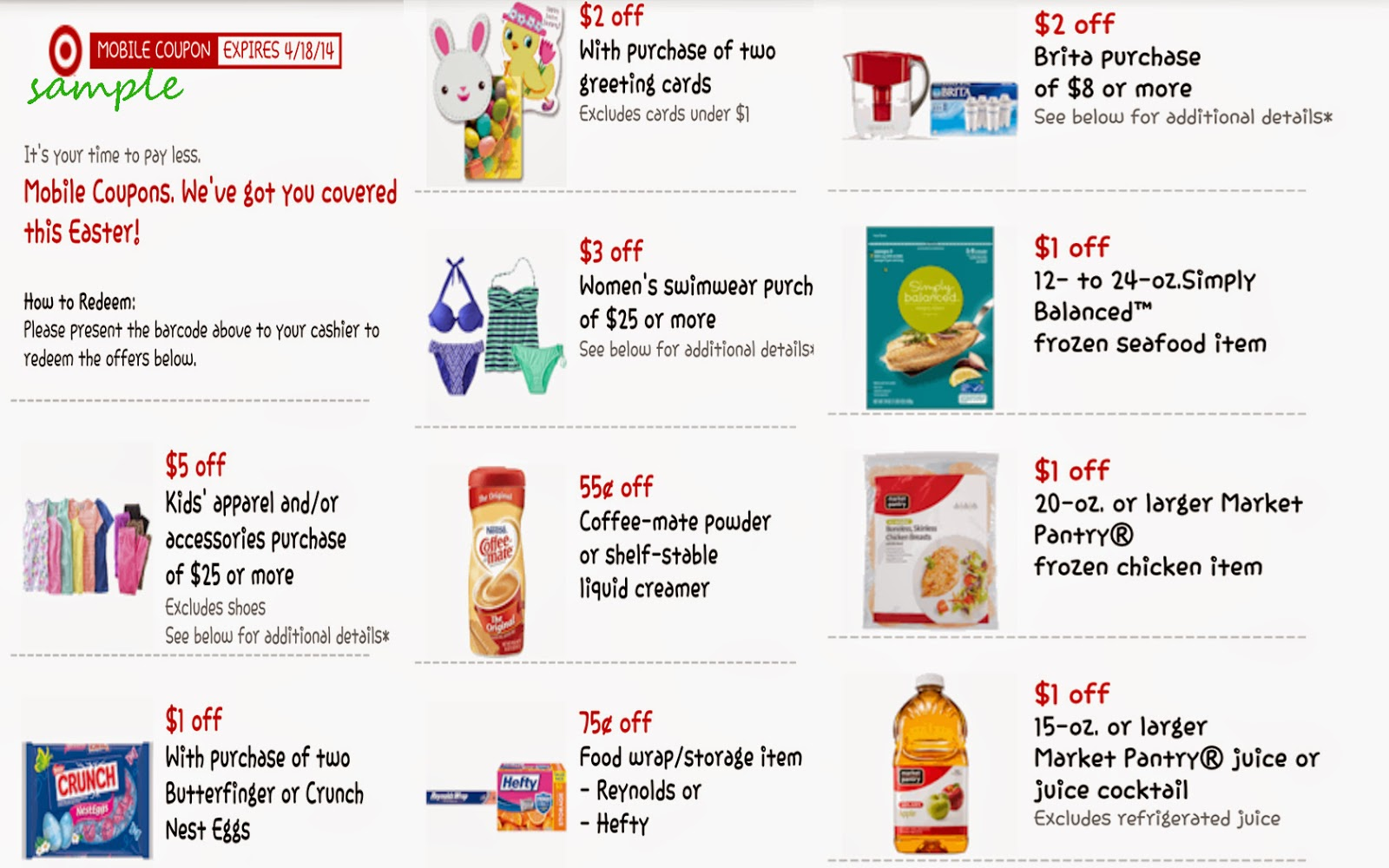 Target picture coupons printable