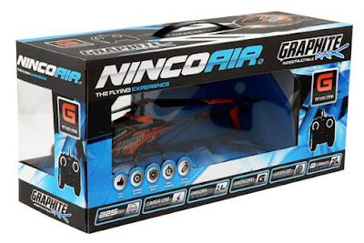 TOYS : JUGUETES - NINCO  NINCOAIR - Graphite Max 2.4 Ghz  Helicoptero RC | Radiocontrol  Comprar en Amazon España