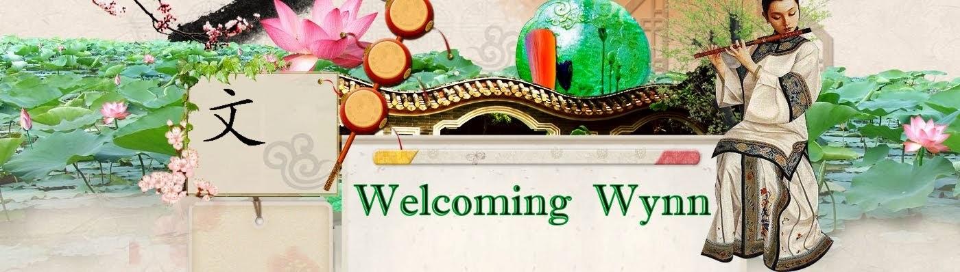 Welcoming Wynn