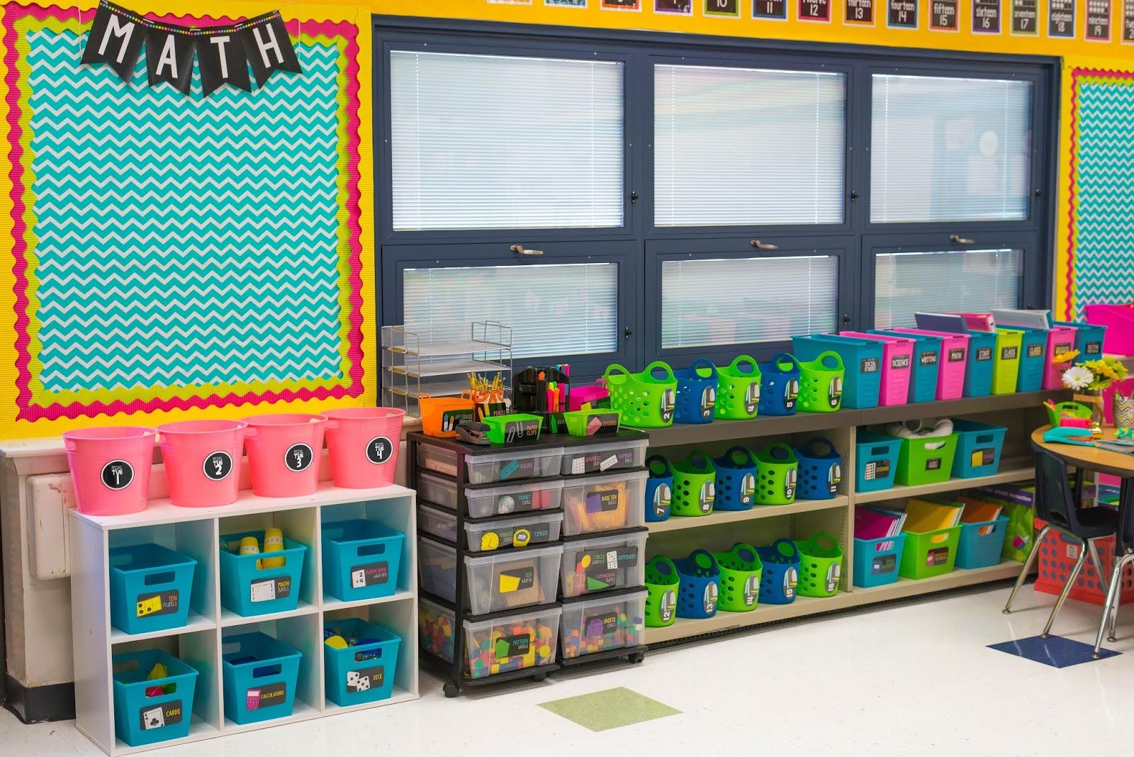 Classroom Bulletin Design ~ Classroom reveal first grade made