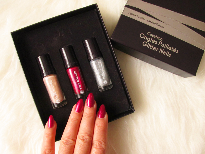 Yves Rocher Blogger Challenge Quelques Notes d´Amour : Limited Edition Set Glitter Nails