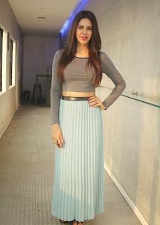Sonam Bajwa Picture Gallery at 'Kappal' Press Meet