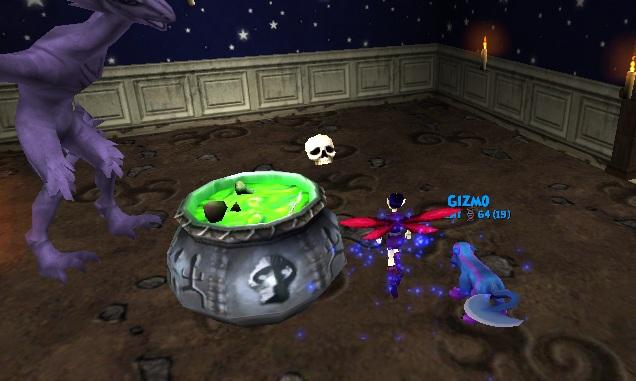 wizard101 pumpkin mask