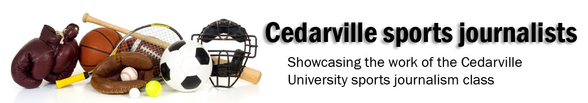 Cedarville sports journalists