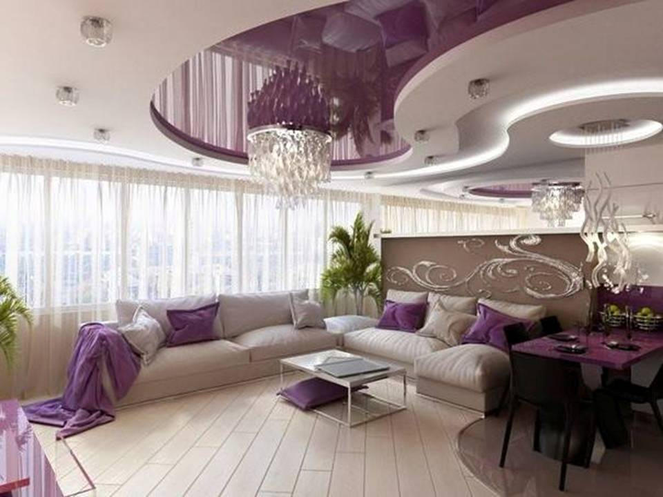 Get Peace Of Mind With Purple Living Room Design Decor Units