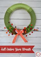 http://www.aglimpseinsideblog.com/2014/09/fall-ombre-yarn-wreath.html