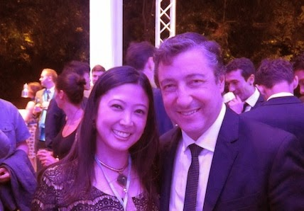 Philippines Food Journalist Margaux Salcedo with Chef Joan Roca of El Celler de Can Roca