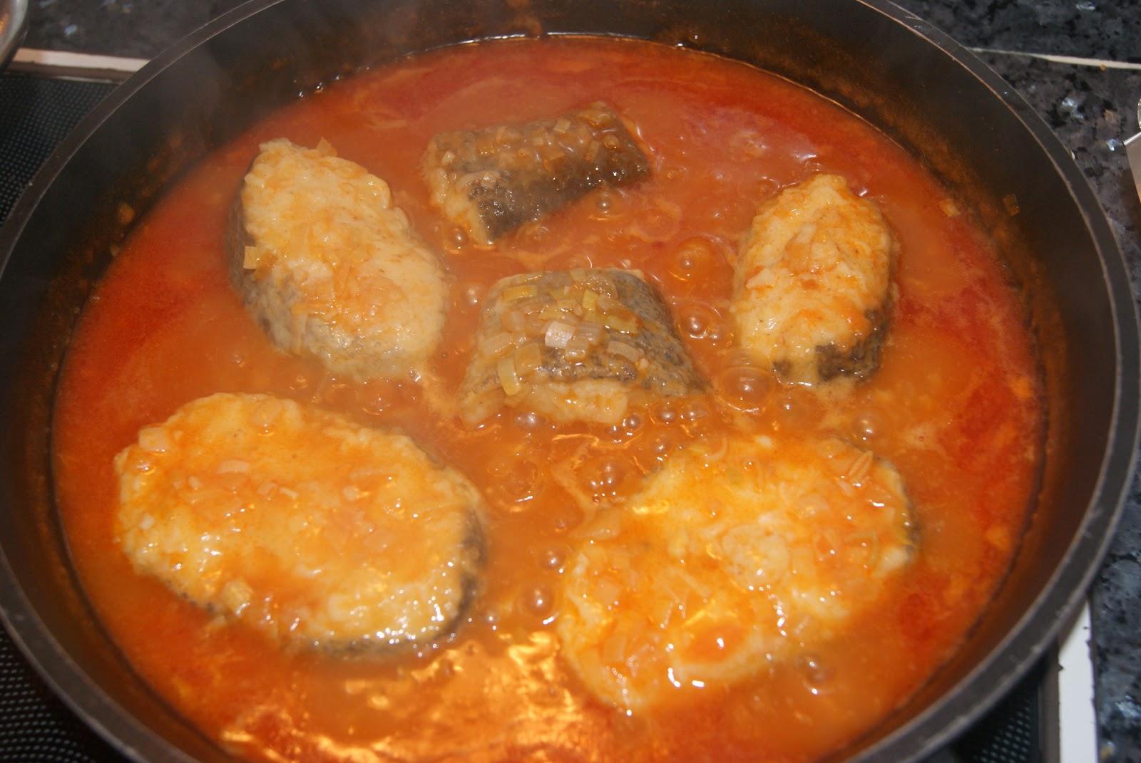 Bacalao fresco a la marinera el g de sasa for Hacer salsa marinera