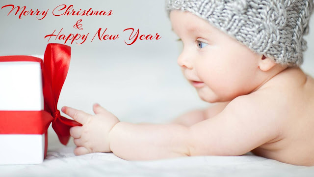 wallpaper ucapan selamat natal dan tahun baru