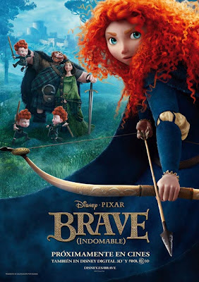 poster brave indomable disney pixar