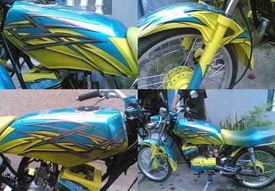 Foto Modifikasi Yamaha Rx King Terbaru