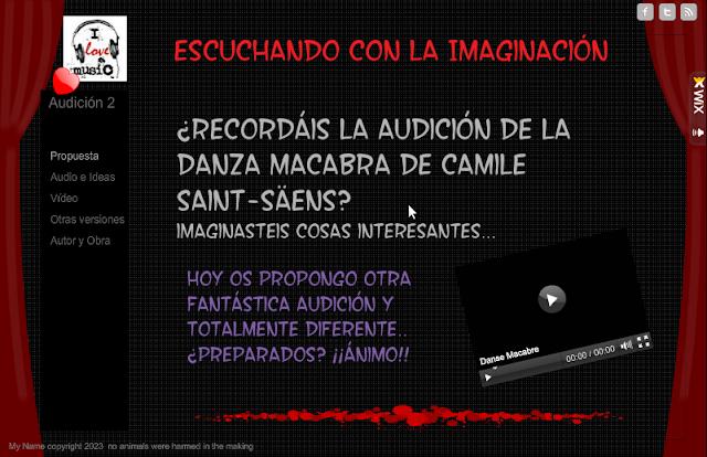 Escuchando con la imaginación - Audición 2