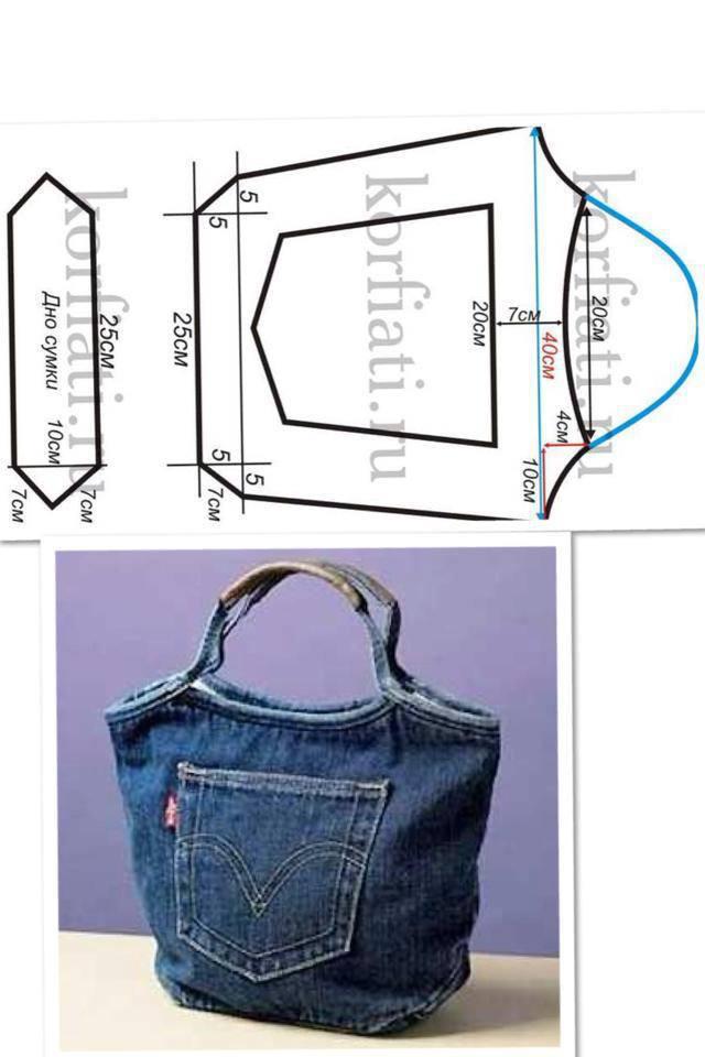 5 Ideas para reutilizar unos pantalones de mezclilla (jeans ...
