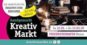 Ich bin dabei - Kreativ Markt Friedrichshaven