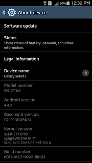 Samsung Galaxy Grand 2 KitKat Update
