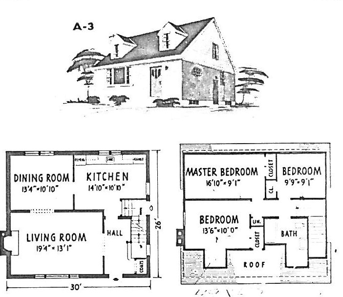 Mid century modern and 1970s era ottawa campeau in alta vista for Reverse one and a half story house plans