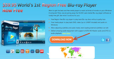 Free License Key for Region-Free Blu-ray Player Leawo  giveaway
