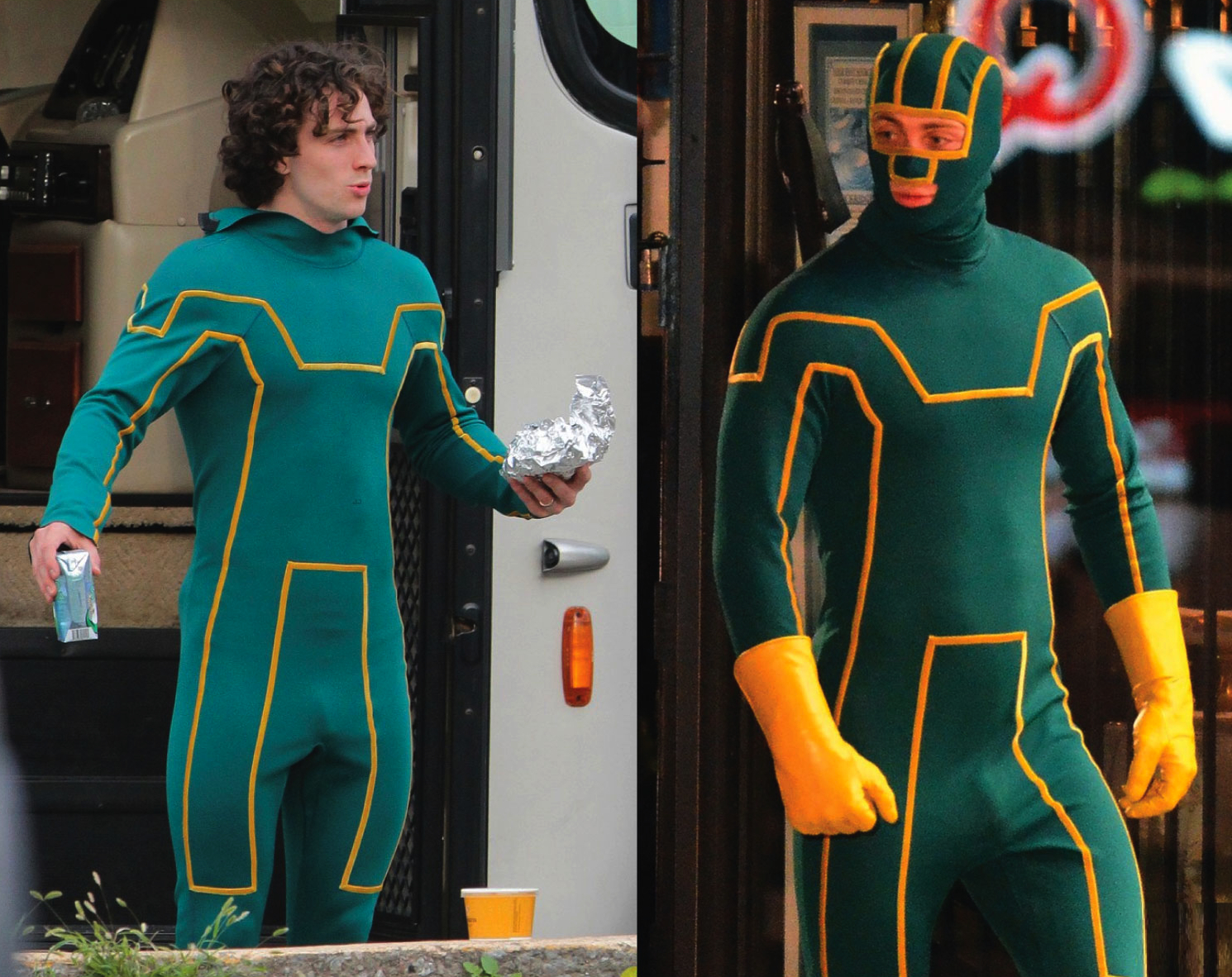 Aaron Johnson Kick-Ass Star Naked