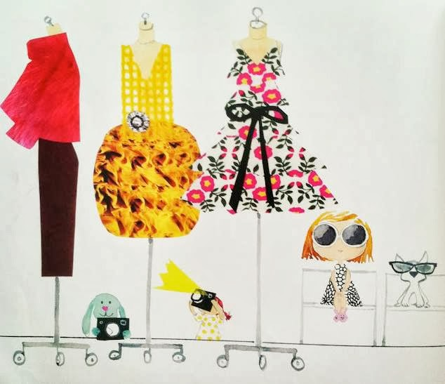 sample page #1 from BIRDIE'S BIG-GIRL DRESS by Sujean Rim