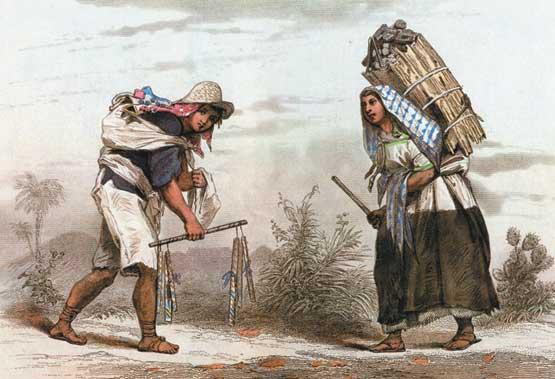 La situacion de los indigenas, las castas y los esclavos