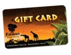 Kalahari Resorts gift card