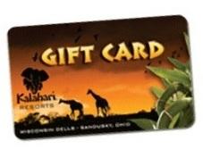 Kalahari Resorts gift card
