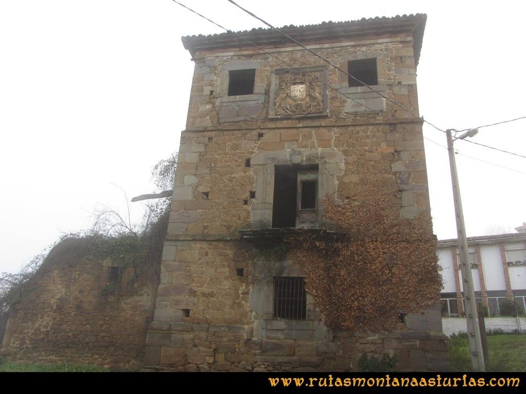 Ruta Carabanzo, Ranero: Palacio de Faes de Miranda