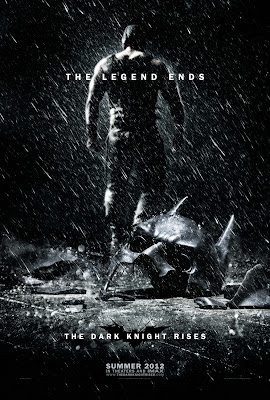 "The Dark Knight Rises ""The Legend Ends"" Teaser One Sheet Movie Poster"