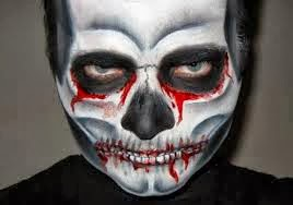Halloween, Maquillaje Hombres