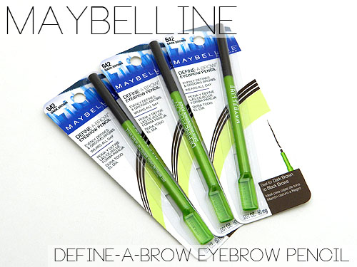 maybelline define a brow