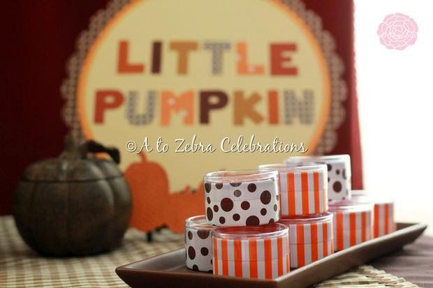 Little Pumpkin Fall Baby Shower