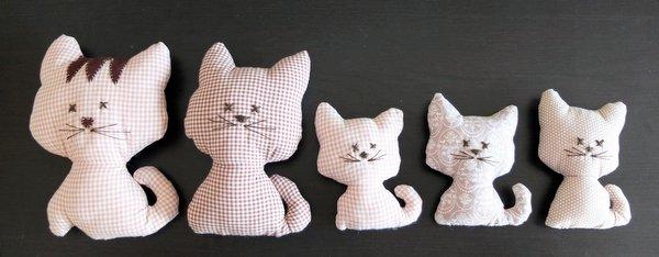 detailverliebt: Katzenschnittmuster