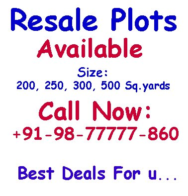 Palm Springs Resale Plots
