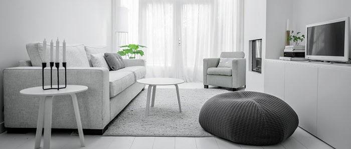 La vie en white for Eveline interieur