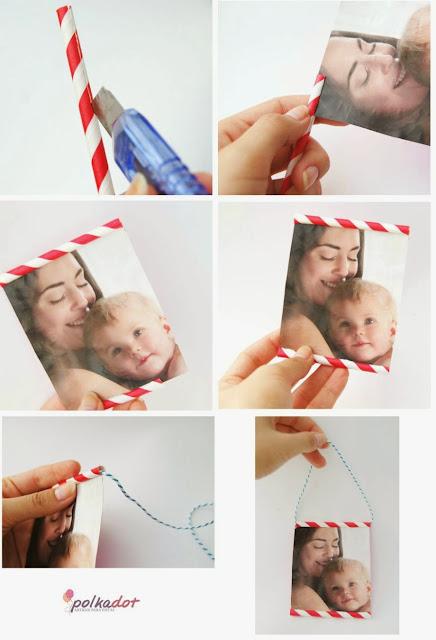 porta-retrato-com-canudos-de-papel
