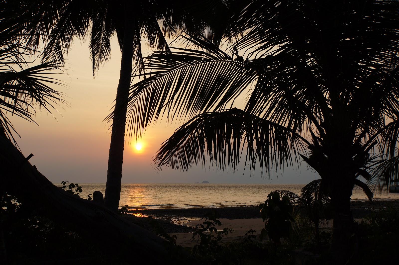 Crépuscule sur Tioman Island