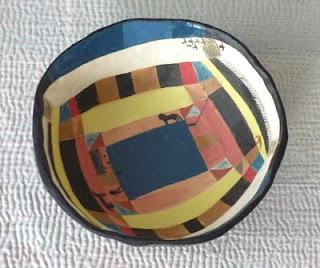 Abstract Art Bowl