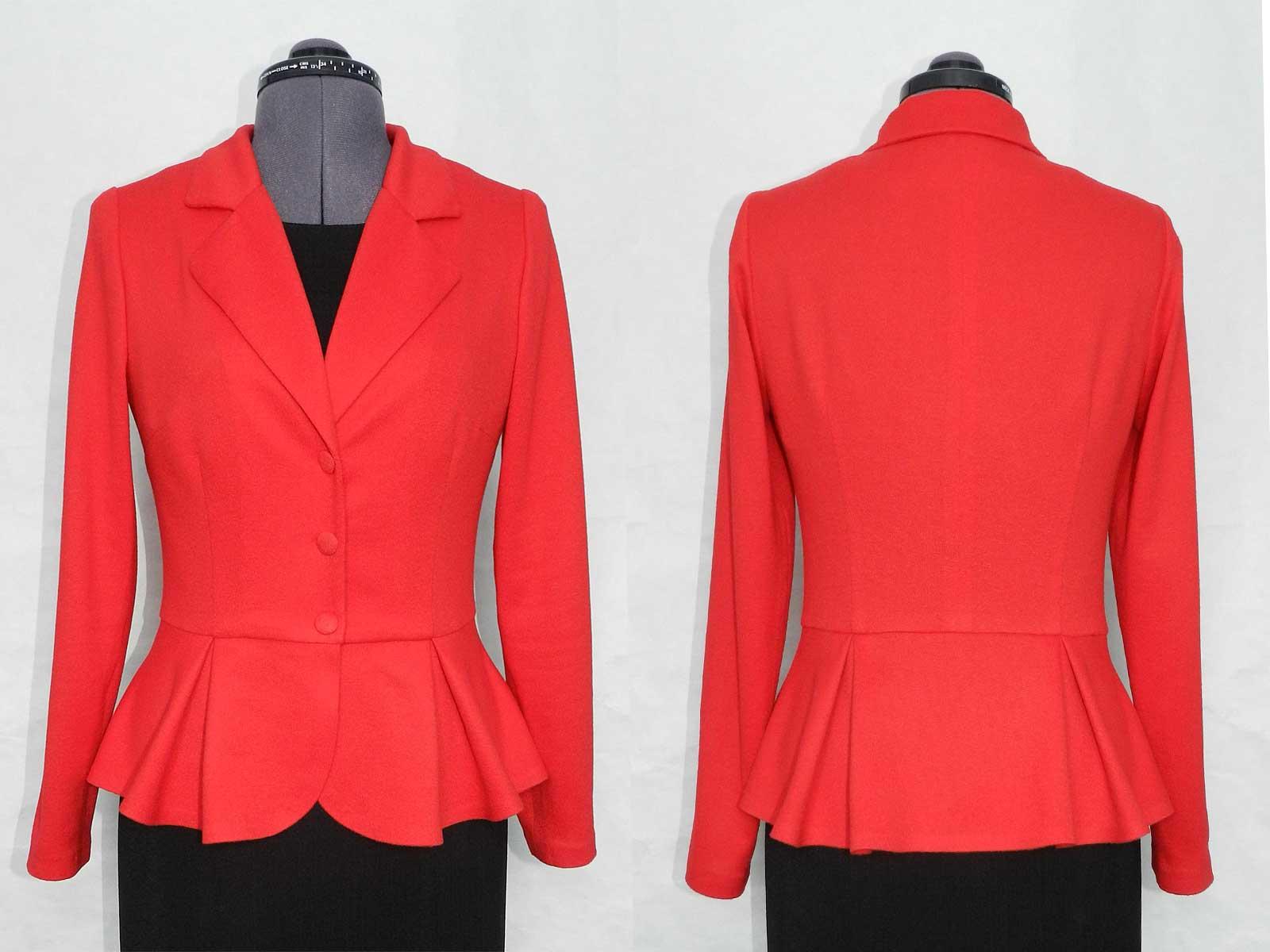Как сшить женский модный пиджак своими руками