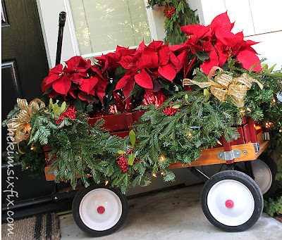 A Traditional Christmas Front Porch The Kim Six Fix