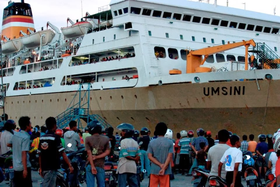 KM Umsini Buka Pelayaran ke NTT