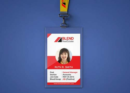 25 Contoh Desain ID Card Keren Untuk Inspirasi - GRAFIS