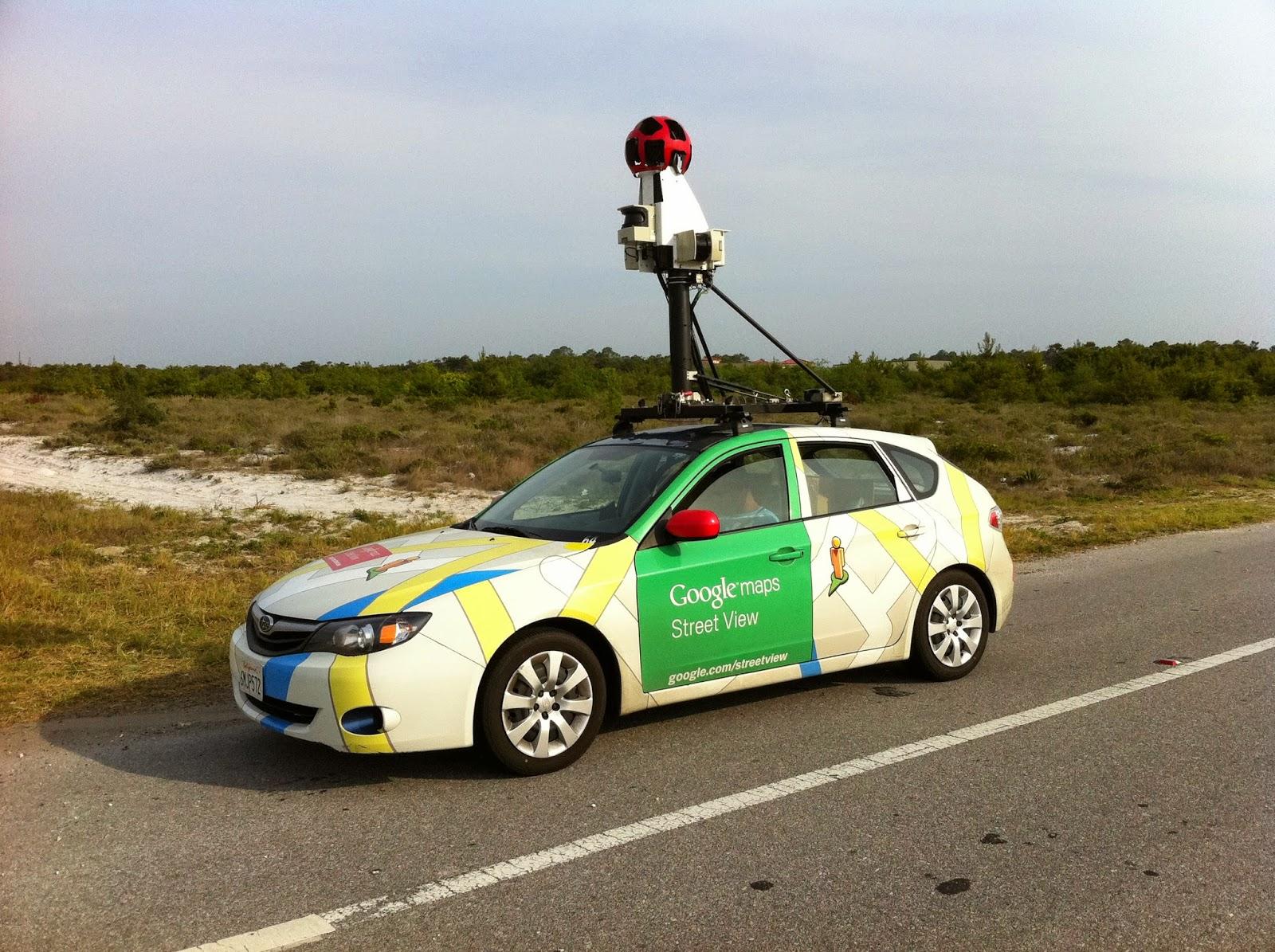 car google maps