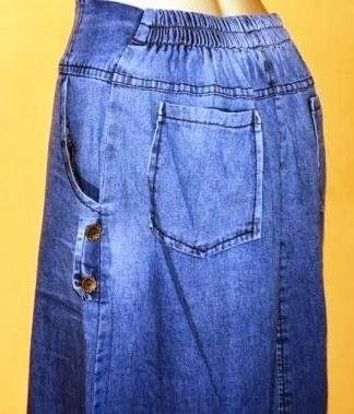 Grosir Rok Jeans Warna