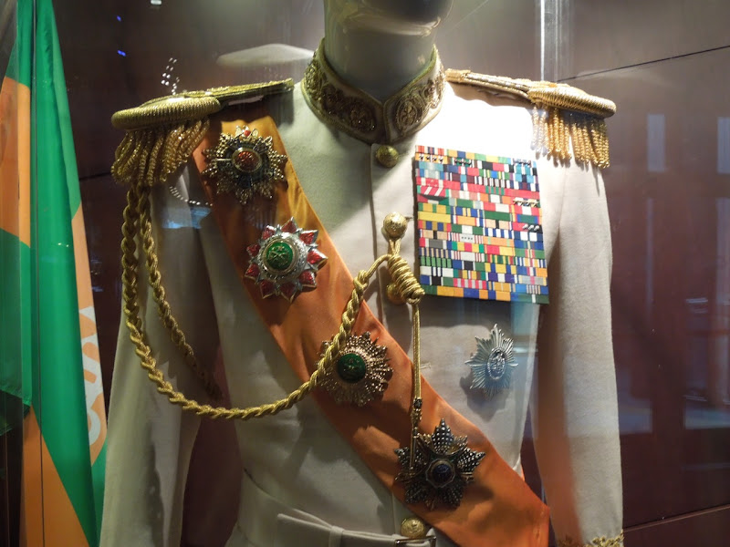 Dictator movie costume medals